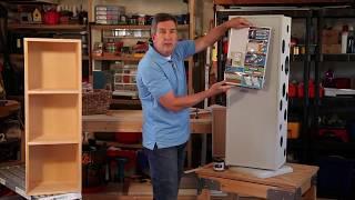 Revolving Storage Cabinet