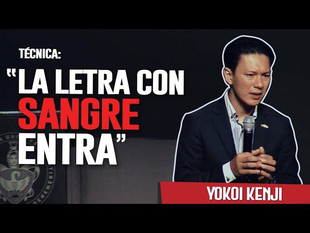 LA LETRA CON SANGRE ENTRA   YOKOI KENJI