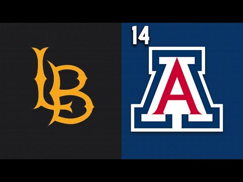 2019 College Basketball Long Beach vs #14 Arizona Highlights