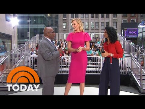 Karlie Kloss And Trisha Shetty Talk About The Power Of Girls' Education | TODAY