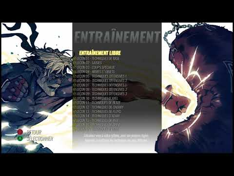 All Retro Alt Moves - Mr X Nightmare Streets of Rage 4 |