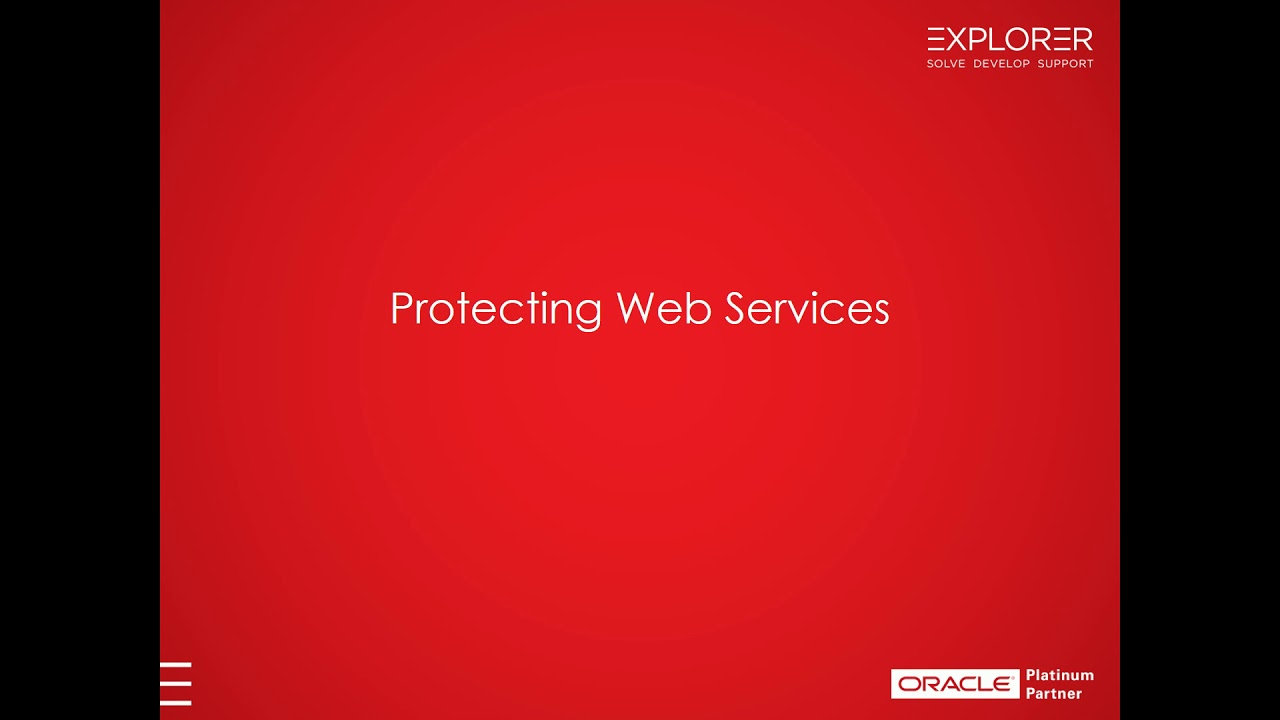 ORDS,OAuth2 & Web Services in APEX – Part 1 – Explorer UK