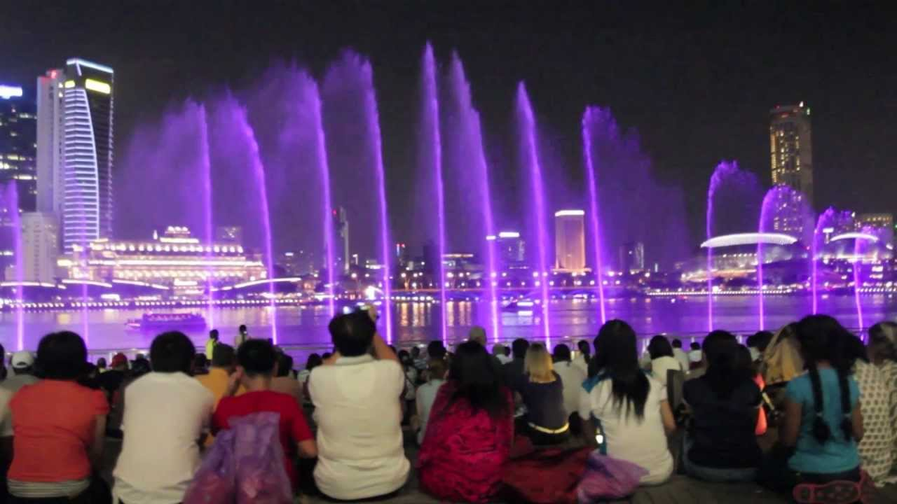 wonder full light and water show marina bay sands singapore hd youtube