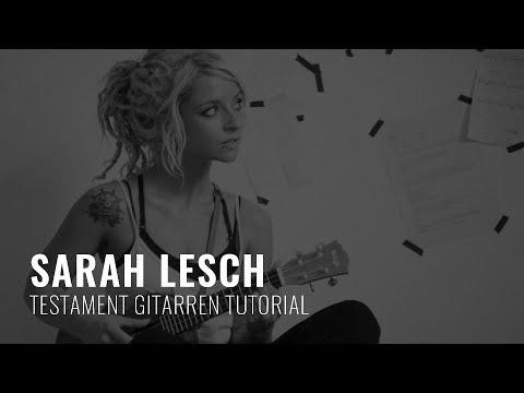 Sarah Lesch - Testament (Gitarren Tutorial)