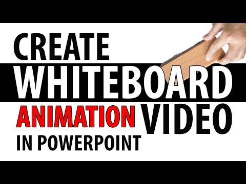 How To Create WHITEBOARD ANIMATIONS In PowerPoint - Part 1