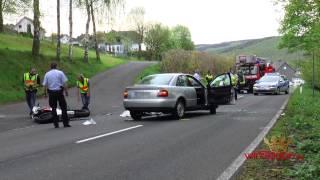 Motorradfahrer bei Unfall tödlich verletzt (Burbach/NRW)
