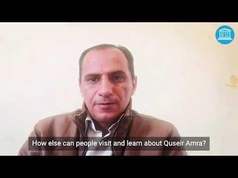Quseir Amra (Jordan)-Site Management During COVID-19 Pandemic