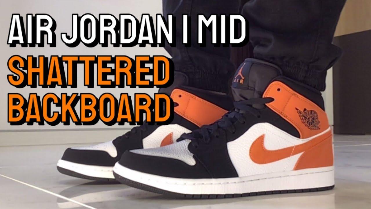 jordan 1 shattered backboard mid