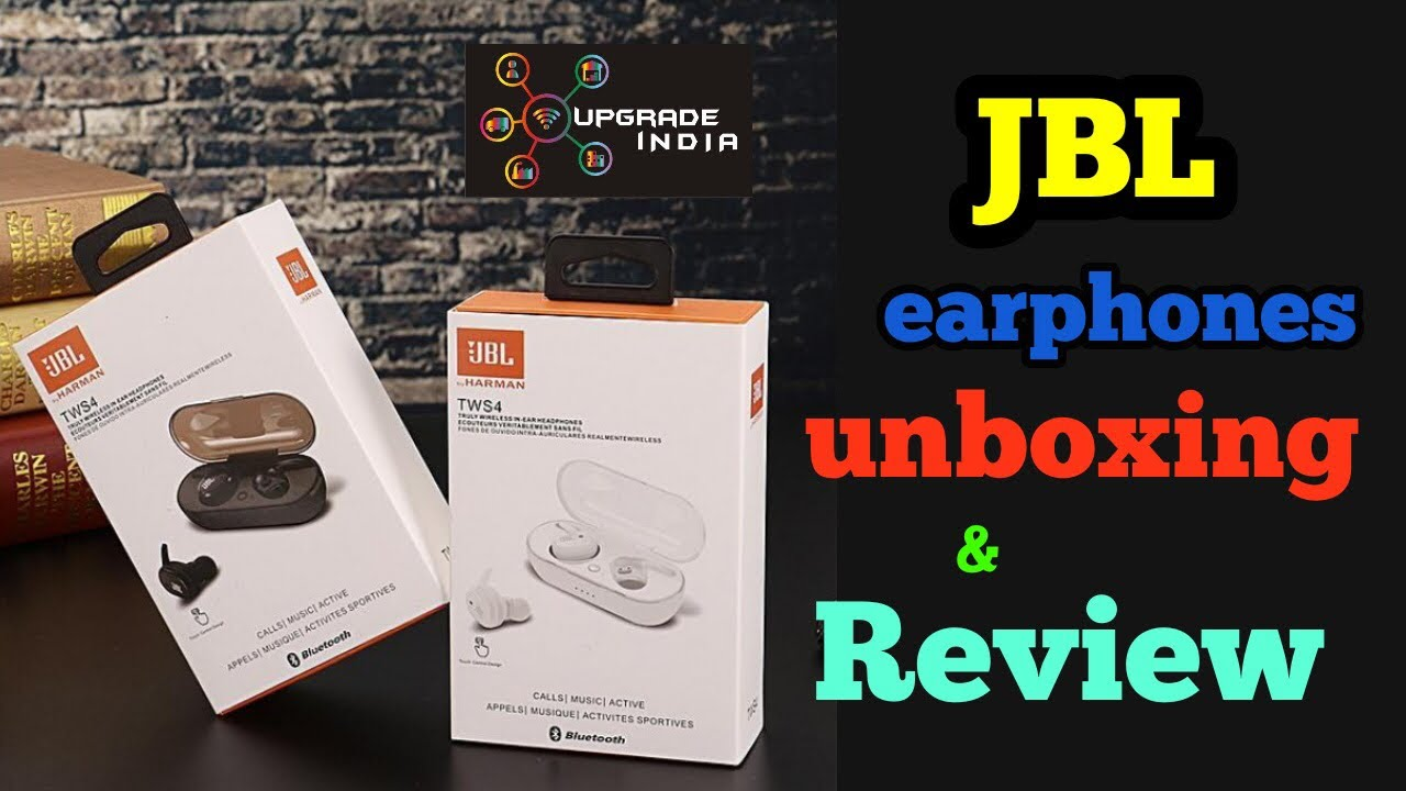 Jbl Tws 4 True Wireless Earbuds Unboxing Review How To Pair By Upgrade India Youtube