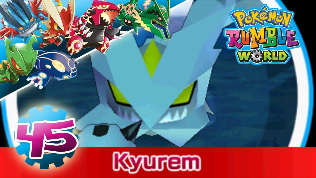 Pok mon rumble world pisode 45 capture d 39 un enorme - Pokemon legendaire blanc 2 ...