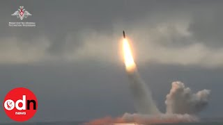 Russia Test-fires Ballistic Missile from Submarine in Barents Sea