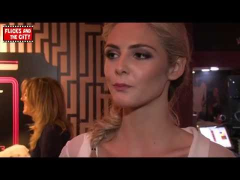 Tamsin Egerton The Look of Love Premiere Interview