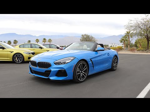 2019 Bmw Z4 Test Drive Review No Six Cylinder No Problem
