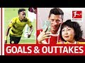 Aubameyang, James, Embolo - Best of Bundesliga World Tour