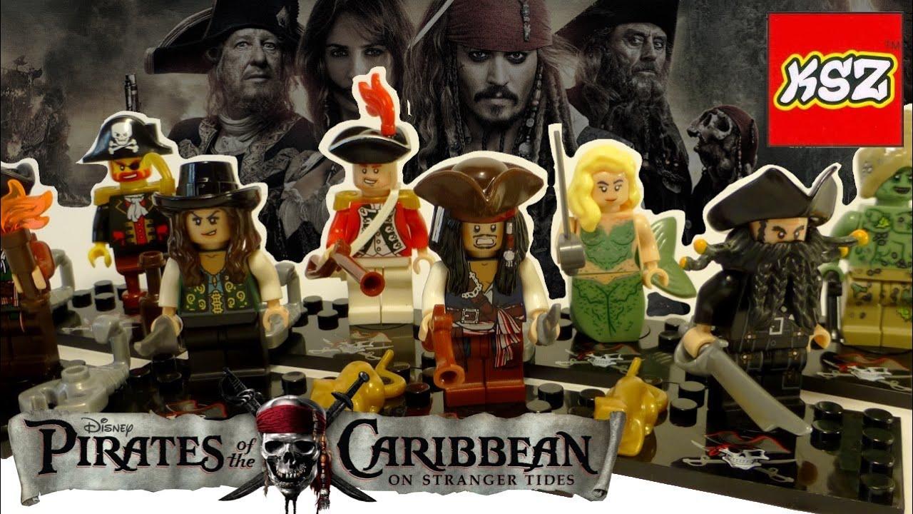 Пиратский Корабль Конструктор Брик Пираты лего - YouTube
