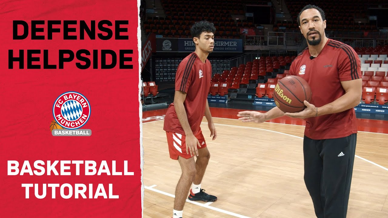 FCB Basketball Tutorial - Folge 5: Defense Helpside feat. Demond Greene