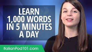 How to write 1,000 Italian Words in a 5 Minutes a Day