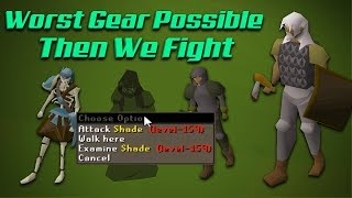 Seeking the WORST gear possible from HIGH tier monsters... THEN WE FIGHT