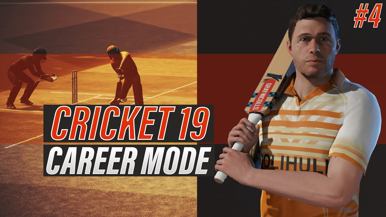CRICKET 19 - ENGLISH BATSMAN CAREER MODE - EPISODE #4 - REBUILDING PROCESS