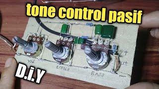 Cara merakit tone control pasif mudah tanpa pcb