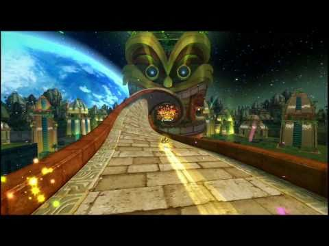 Super Sonic in Sonic Colors