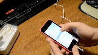 Розпакування копії iPhone 5C білого кольору з сайту Aliexpress + Вирішення спору