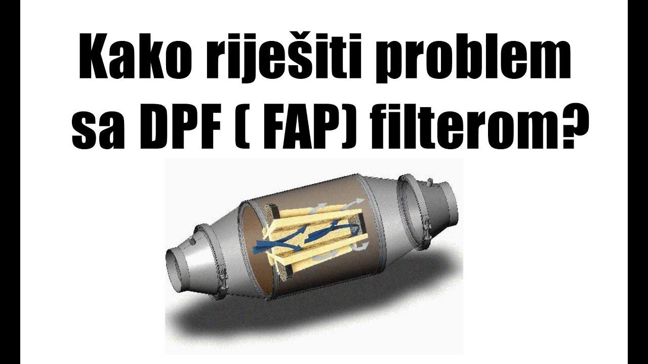 Regeneracija fap filtera