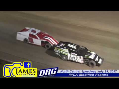North Central Speedway 7/29/17 IMCA Modified Highlights