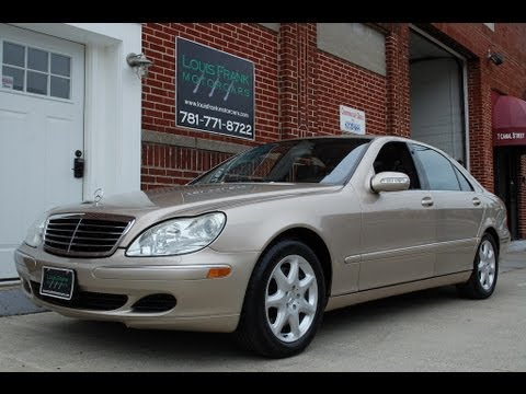 2003 mercedes benz s500 4matic awd walk around for Mercedes benz s500 2003