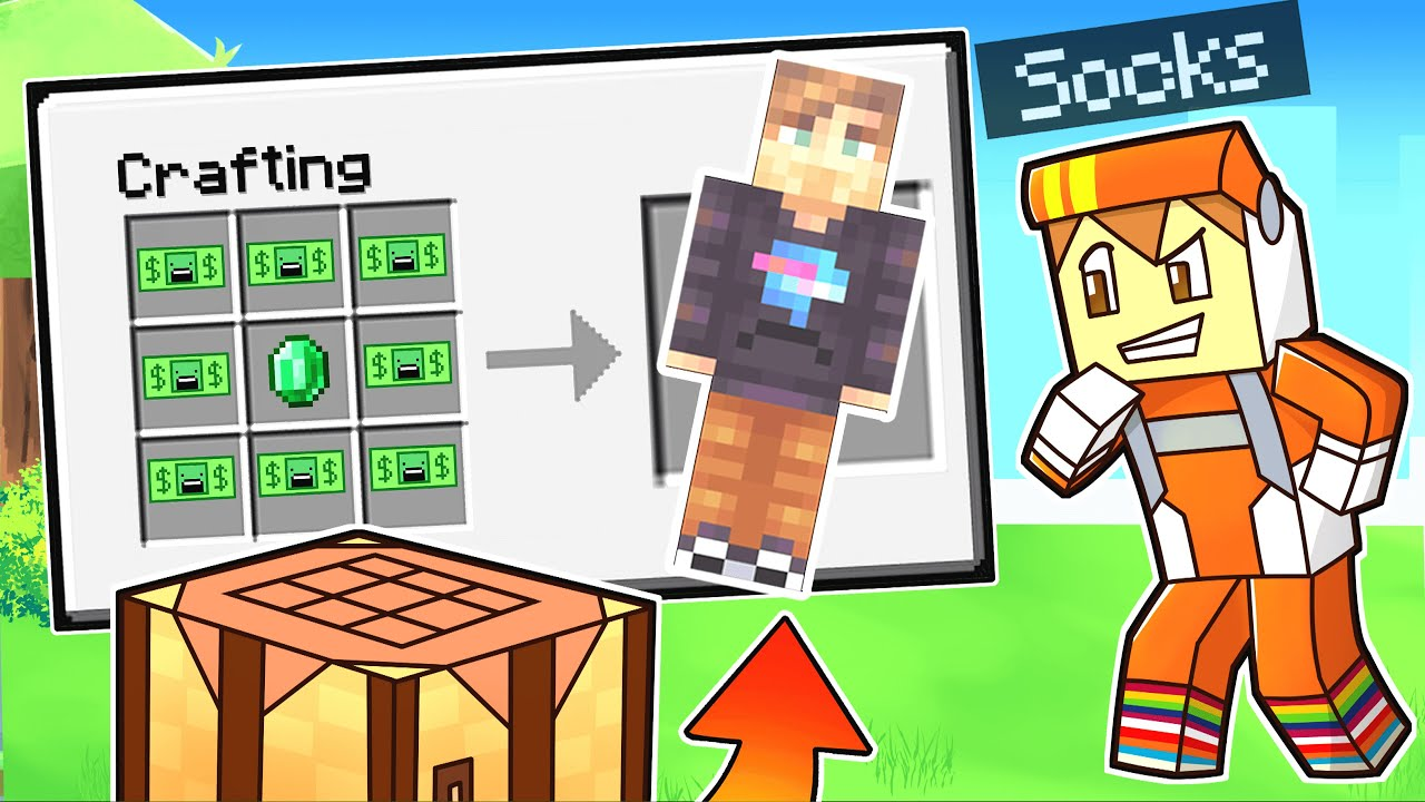 beating minecraft but you can CRAFT YOUTUBERS