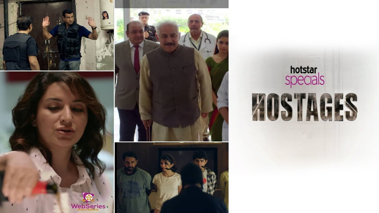 Hostages | hotstar special | All about Webseries | Web Series Review |  Ending NOT Explained