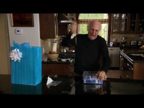Image result for larry david images opening plastic packaging