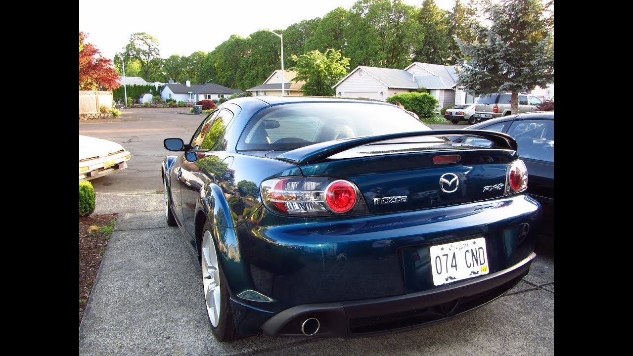 2006 mazda rx8 gt rotary engine walk around in and out review youtube