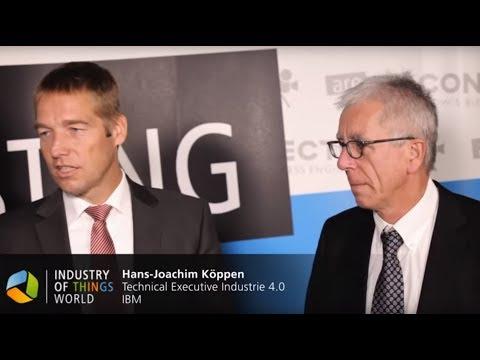 Industry of Things World 2015 Interview - Niklaus Waser & Hans-Joachim Köppen, IBM