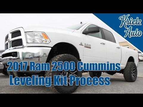 Leveling Kit on a 2017 Ram 2500 Cummins│ Krietz Auto
