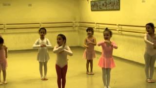 Мири - Открытый урок на кружке балета - 2