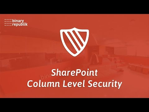 Binary Republik : SharePoint Product - Column Level Security