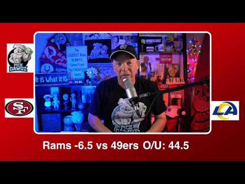 Los Angeles Rams vs San Francisco 49ers 11/29/20 NFL Pick and Prediction Sunday Week 12 NFL