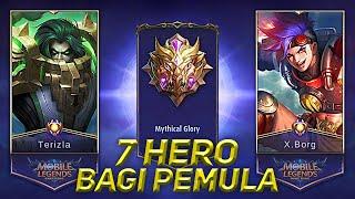 7 HERO MUDAH DIGUNAKAN PEMAIN PEMULA SEASON 13 | Mobile Legends Indonesia