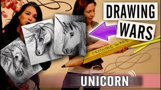How to Draw a Unicorn - Drawing Wars - Episode 2