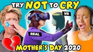 Baixar Moms React To Try Not To Cry Challenge (Mother's Day 2020)
