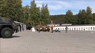 Feierlicher Appell in der Heinrich-Hertz-Kaserne Daun am 26. September 2018