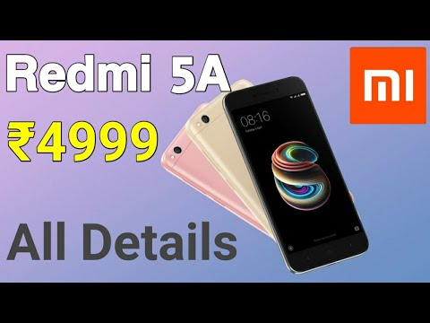 Xiaomi Redmi 5A Desh Ka Smartphone Launched at a price of ₹4999