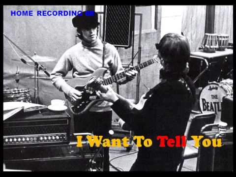 Beatles cover  I WANT TO TELL YOU