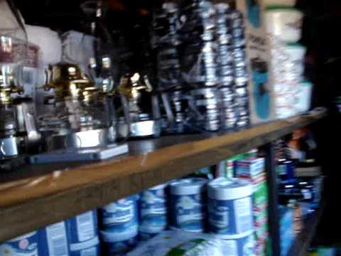 Lesotho village shop & annoying radio