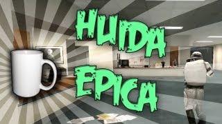 HUIDA EPICA!! - c/ Vegetta, Luzu, Willyrex, Serpiente y Sarinha ( Prop Hunt ) #3