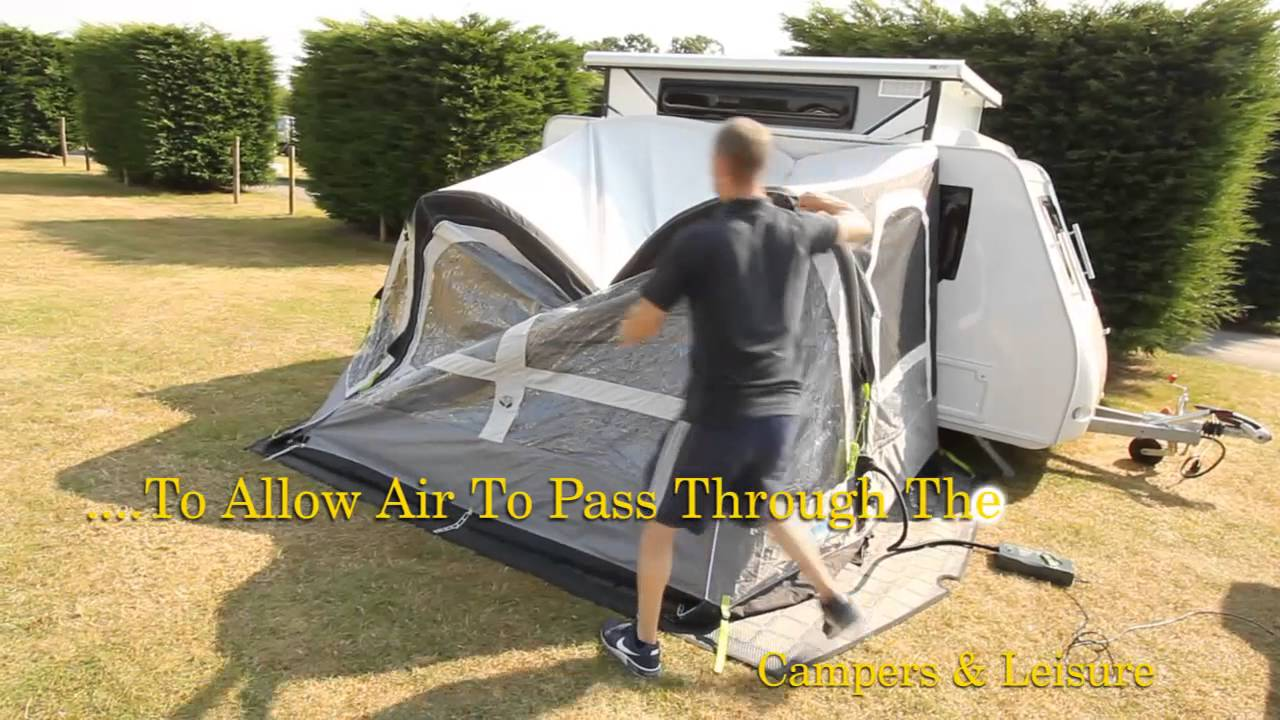 Kampa Pop Air Pro Awning Youtube