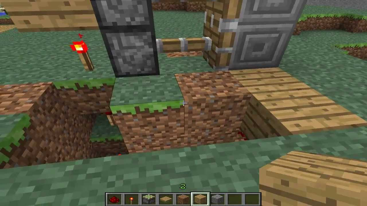 How could I make a two-way Piston Door? - Minecraft Forum