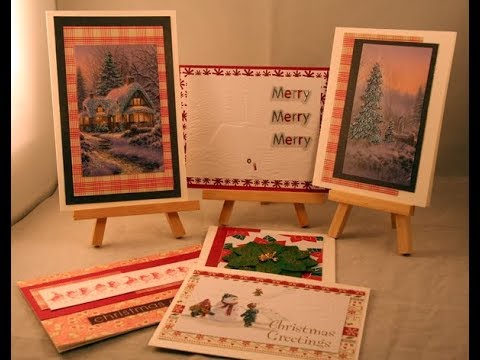 Recycling Christmas cards wk29 and a surprise