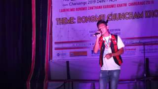 namdisin kamei singing||2nd rongmei fresher meet delhi||